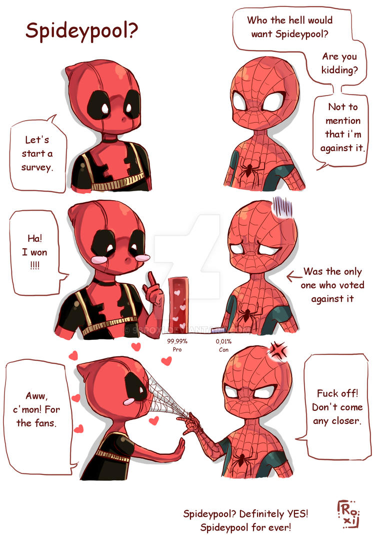 Spideypool? by 96Roxi