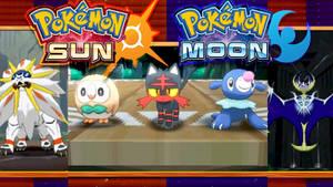 Pokemon Sun and Moon: Starters and Legendaries!