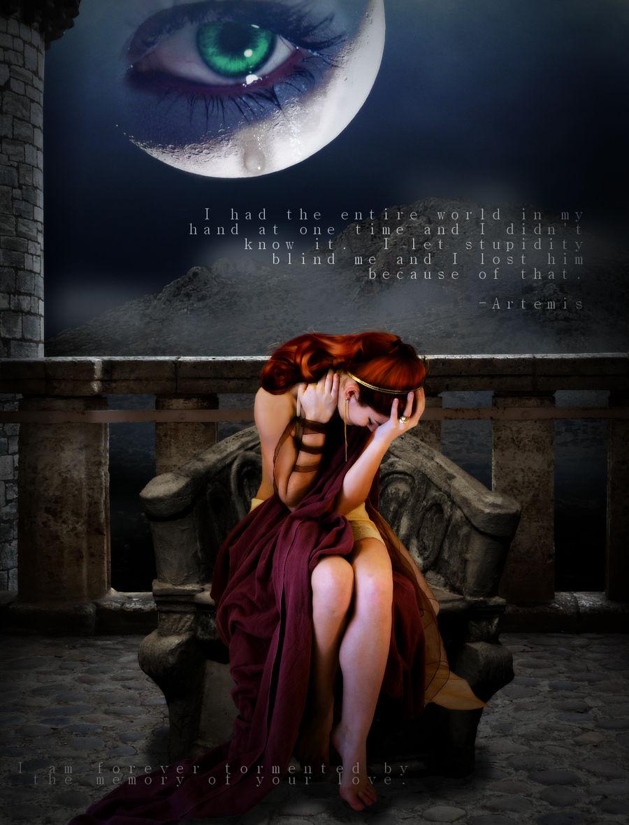 Brokenhearted Artemis