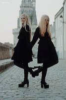 Twins by N-amelessLiberty