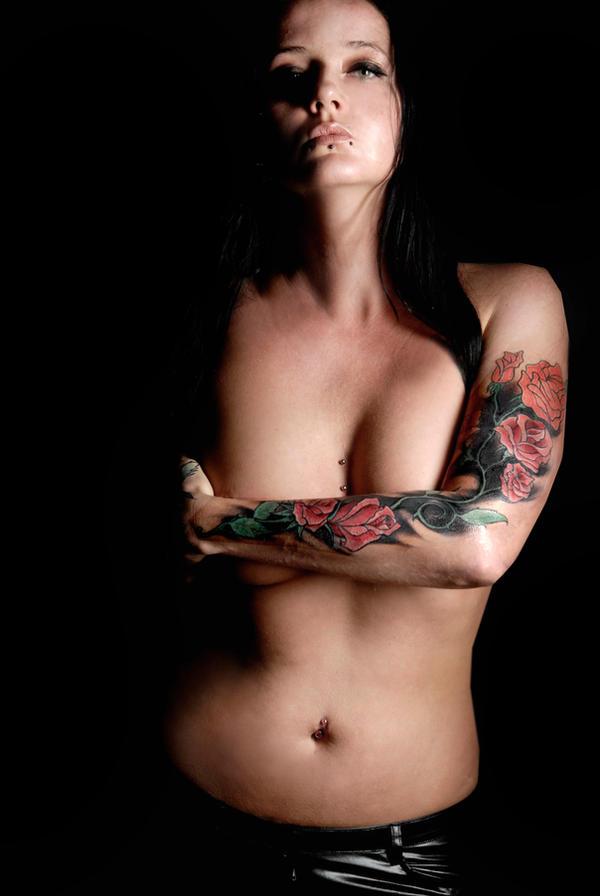 tattoo in progres by Teufelin