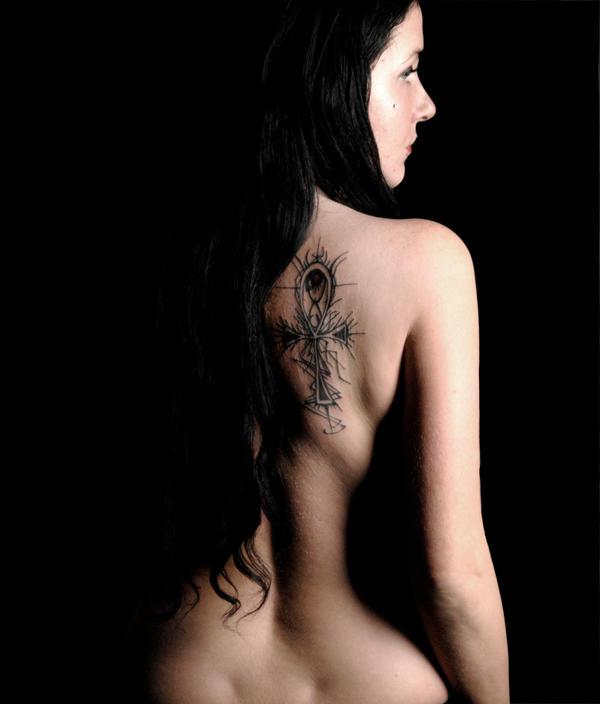 Tattoo Ankh by Teufelin