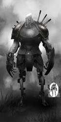 Robot Sketch by Corey-H