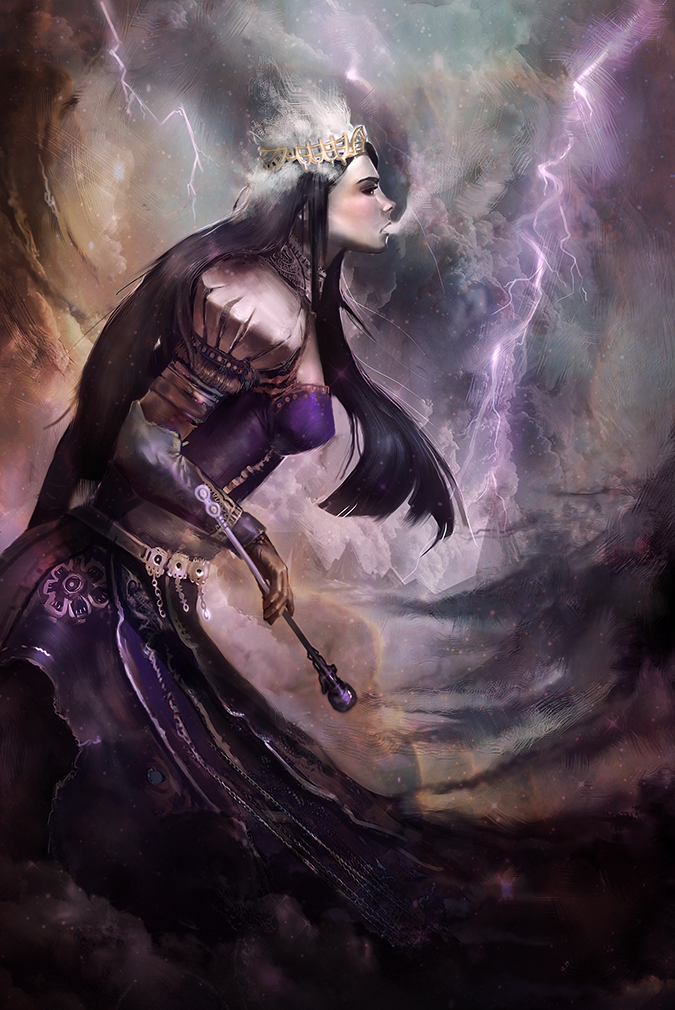 Storm Goddess by Corey-H