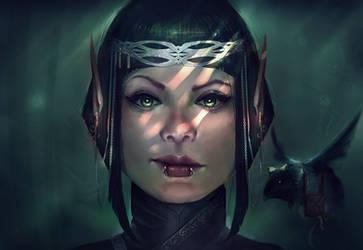 Nikki Elf Portrait