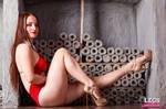 LegsEmporium Alisa as Vampirella relaxed