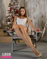 Double Crossed Legs with Viktoria - Legs Emporium by LegsEmporium