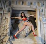 Wonder Woman's Sexy Long Beautiful Legs - Elena by LegsEmporium