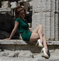Sculpted Crossed Legs with Anastasia - LE by LegsEmporium