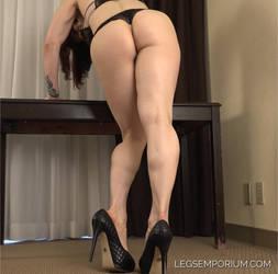 Andrea's Sexy Muscle Hotness - Legs Emporium by LegsEmporium