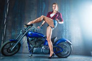 Legs for Days Redhead Heather - Legs Emporium by LegsEmporium