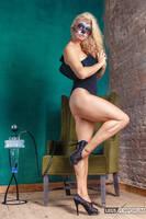 Anastasia's Hallween Surprise 2 - Legs Emporium by LegsEmporium