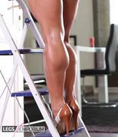 Beautiful Calf Muscles of Csilla Fodor - LE by LegsEmporium