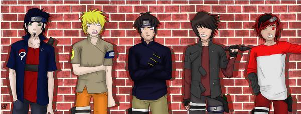 my next generation Naruto guys by drummerchick13
