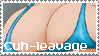 Cleavage stamp by BlooberBoy