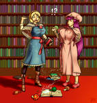 Magical mishap at the library -Part 2-