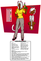 Anyssa's character sheet 2019 by BlooberBoy