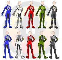 ASSC pilot suits