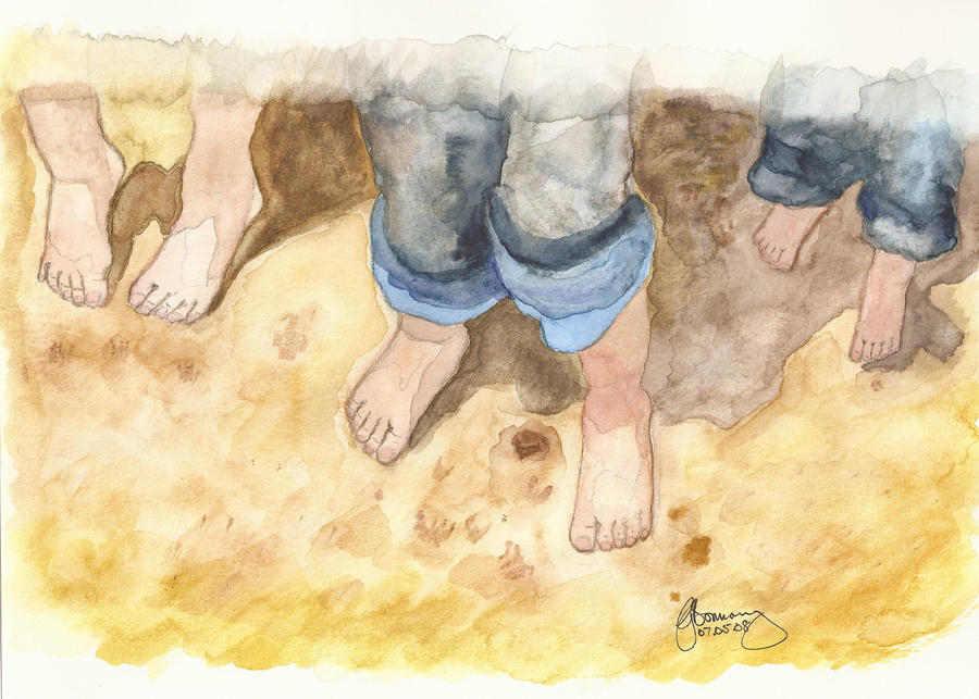 Kids Feet Forum Kids Feet in Sand by