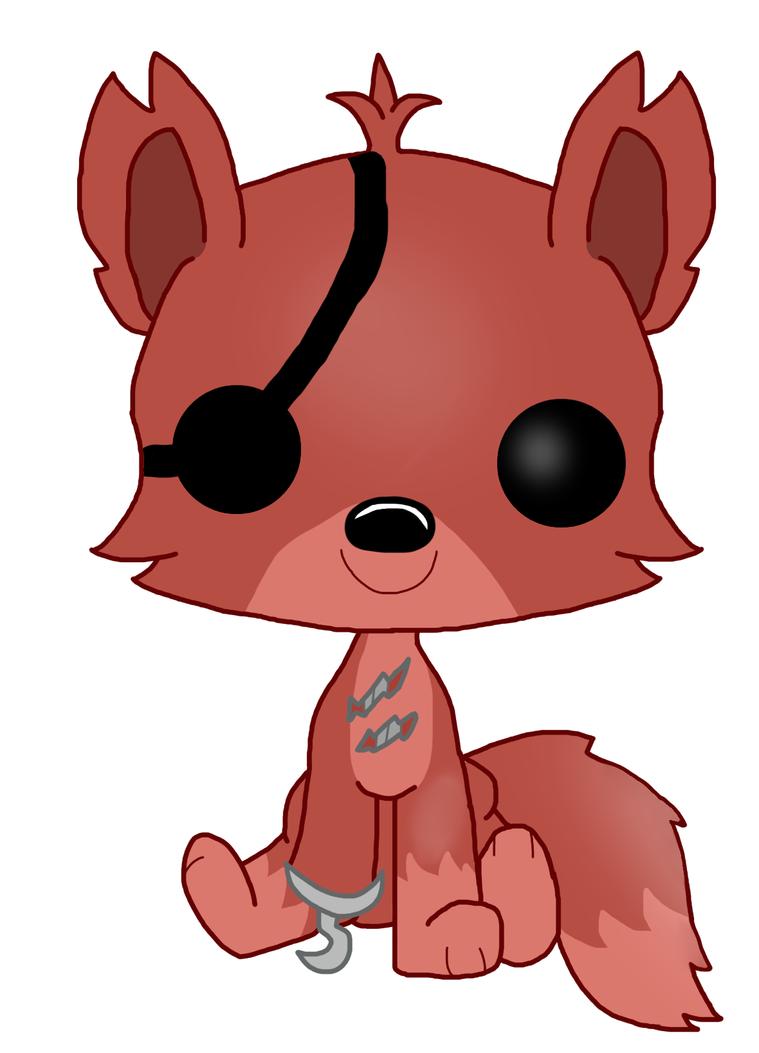 Foxy the pirate fox pop funko by foxythepiratepony on deviantart