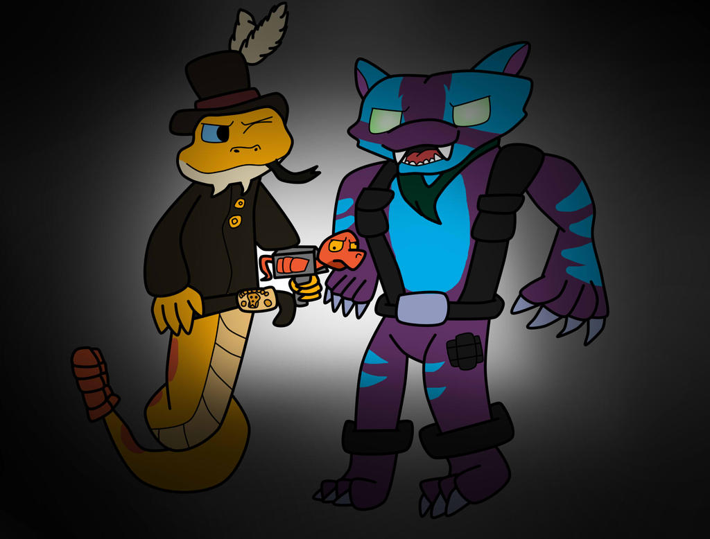 Shadow trap x rattle snake by theyareyournightmare on deviantart