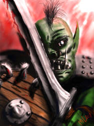 Orc On The Ready