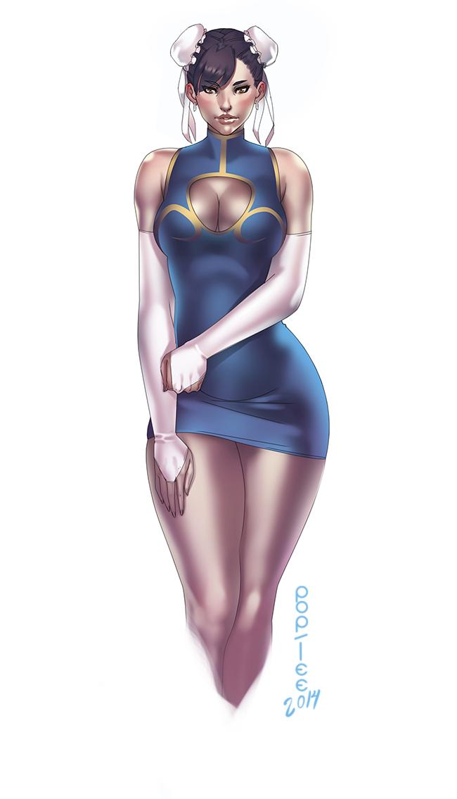 Chun-Li by pop-lee