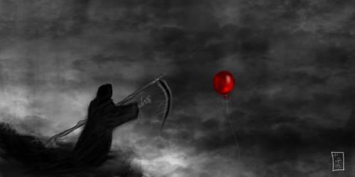 Runaway Balloon by IxthArcana