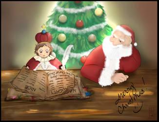 Christmas Card  2013 by IxthArcana