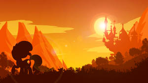 Sunset in Canterlot by ProBaldr