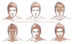 Face shading trials