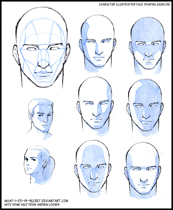deviantart how to draw faces