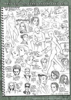 First sketchdump of 2011