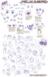 Multi-reference Sketches 002 by what-i-do-is-secret