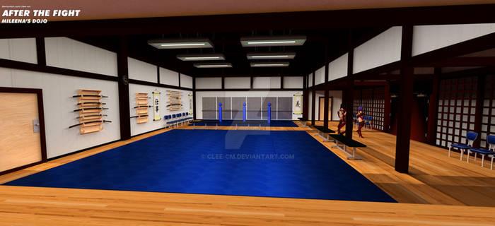 The Dojo: Practice Hall Area.