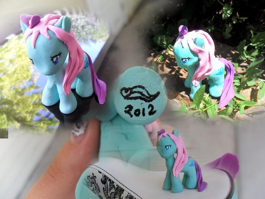 My Little Pony - Sea Breeze G2 (clay) by Xweetara on DeviantArt