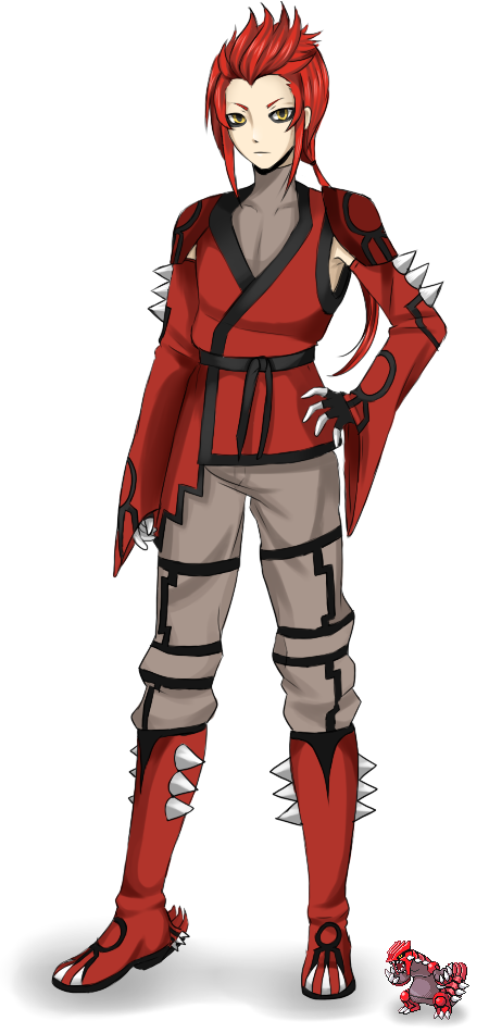 Groudon Gijinka [groudon gijinka] by