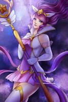 [League of Legends] SG Janna by AquaLeonhart