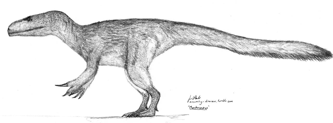 Marshosaurus by Jeda45