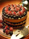 Mixed Berry Custard Genoise