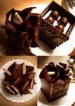 Calla Lilly Chocolate Box