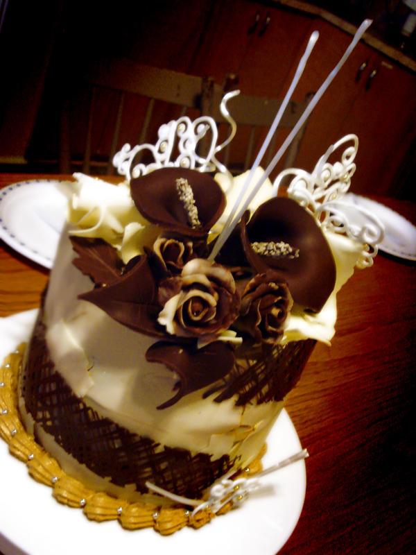Boutique Cake Art Yarraville : Choco Espresso Tower Cake Side by Sliceofcake on deviantART