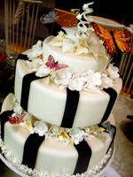Butterfly Wedding Cake by Sliceofcake