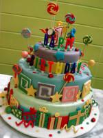 Jerome's Birthday Cake by Sliceofcake