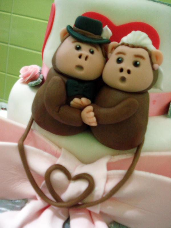 Monkey Couple Closeup