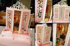 Wardrobe Cake by Sliceofcake