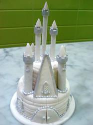 Silver Castle Topper by Sliceofcake