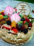 Longevity Peach Fruit Cake