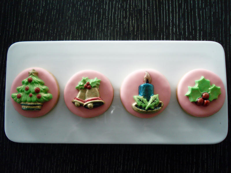 Christmas Cookies Front View by Sliceofcake