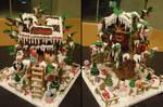 1Caramel Gingerbread Treehouse